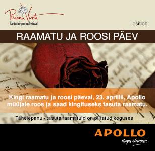 Raamatu ja roosi päev !