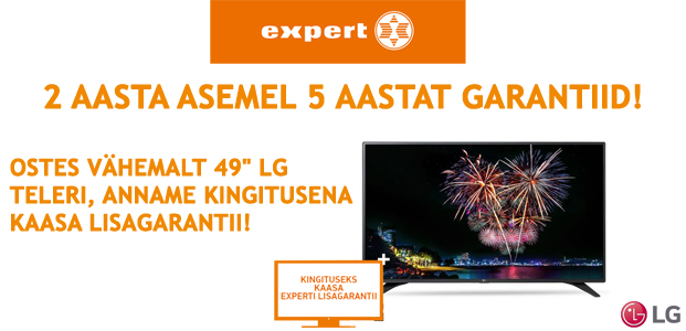TASUTA LISAGARATII EXPERTIS !