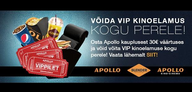 Võida VIP kinoelamus !