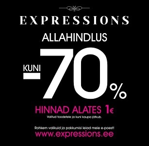 Allahindlused Expressionsis !
