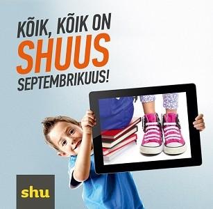 Osta SHUst jalatsid ja võida tahvelarvuti!