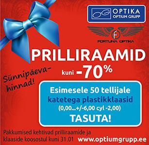 Optium Grupp Prillipoe sünnipäevapakkumine !