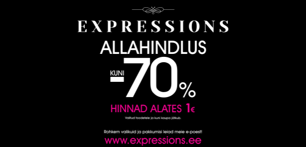 Allahindlus Expressionsis!