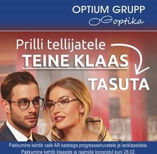 Veebruarikuu pakkumine Optium Grupp Optikas!