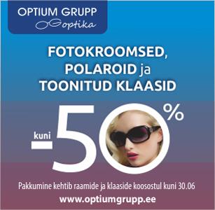 Päikseline soodustus Optium Grupp Optikas!