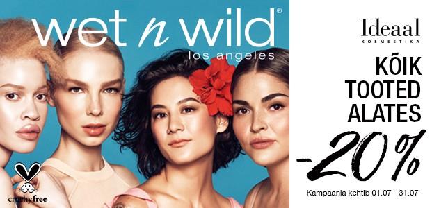 Wet n wild kuu Ideaal kosmeetikas