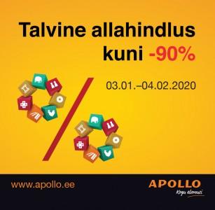 Apollos on suur talvine allahindlus