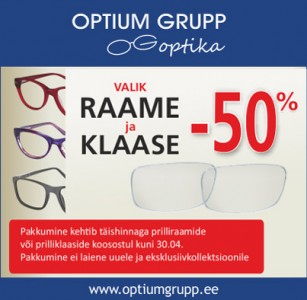 Optium Grupp Optika hinnasula