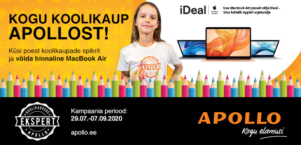 Apollo koolikampaania