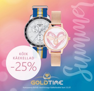 Goldtimes käekellad -25%