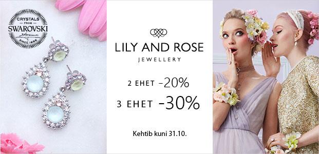 "Goldtime ""Lily and Rose"" eripakkumine"