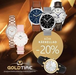Goldtimes kõik käekellad -20%