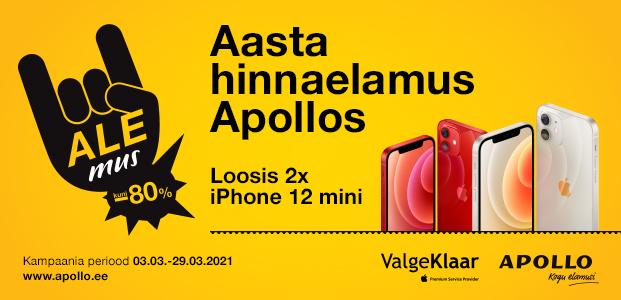 Aasta suurim hinnaelamus Apollos – Alemus!