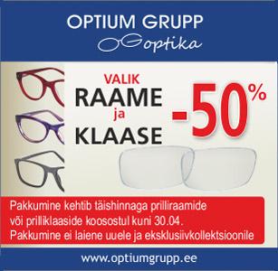 Optium Grupp kampaania 09.03.21–30.04.21