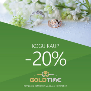 Goldtime – kogu kaup -20%!