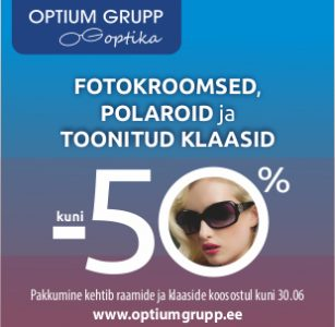Optium Grupp Optika – suvised klaasid suviste hindadega!
